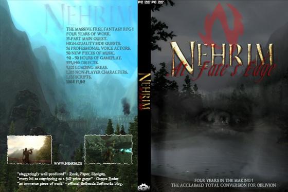 Nehrim English Printable DVD Cover P E R F E C T W O R L D S